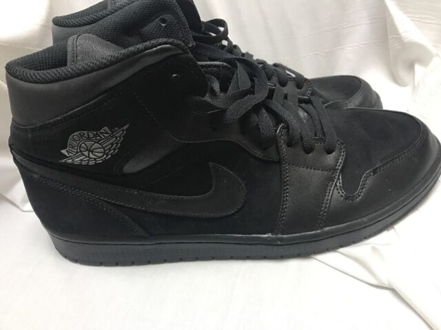 watch a541f abb87 nike Air Jordan 1 Mid Lifestyle Shoes Black Dark Grey 2018 Sneakers  554724-050