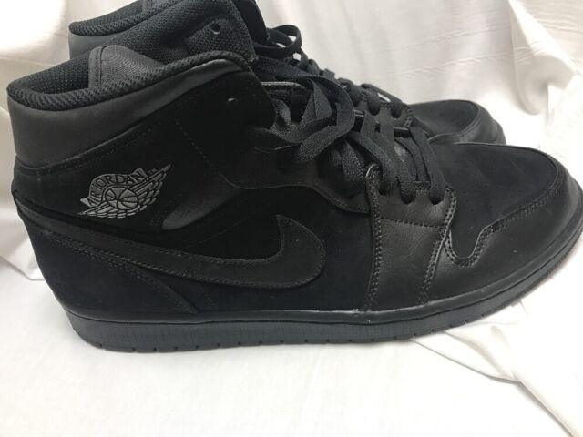 watch aa05a e49a9 nike Air Jordan 1 Mid Lifestyle Shoes Black Dark Grey 2018 Sneakers  554724-050
