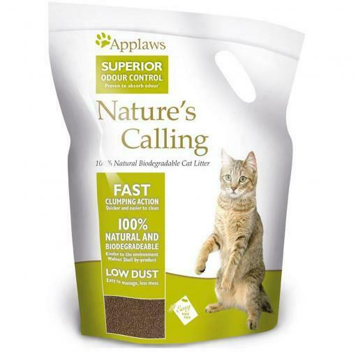NEW Applaws Superior Odour Control Nature's Calling Clumping Cat Litter 6kg