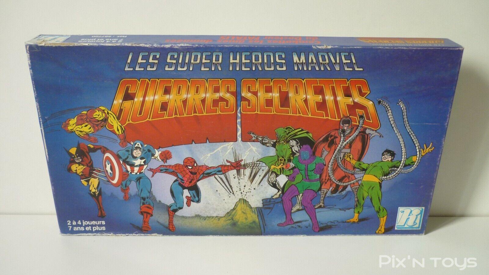 Jeu de société Guerres Secrètes Les Super Heros Marvel Ref Ref Ref  587720   HI 1981 f03409