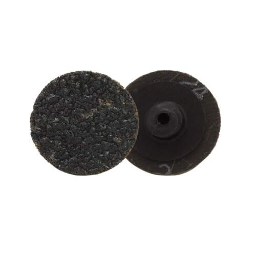 "1/"" Silicon Carbide Sanding Discs 24 Grit Quick Change 25Pack Sander Tool"