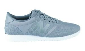 Details zu Womens NEW BALANCE 420 Grey Trainers WL420DFM