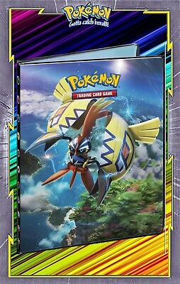 Album//Classeur Pokemon Portfolio A4 Pokemon rangement 180 cartes V4 Neuf