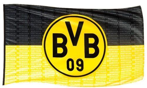 """HISSFAHNE FAHNE FLAGGE 250x150 BORUSSIA DORTMUND BVB """"Borussia Dortmund"""" NEU"""
