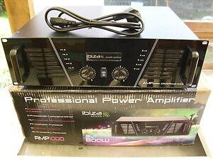 Ibiza AMP1000 Professional Audio Endstufe PA Verstärker 1600W - Deutschland - Ibiza AMP1000 Professional Audio Endstufe PA Verstärker 1600W - Deutschland