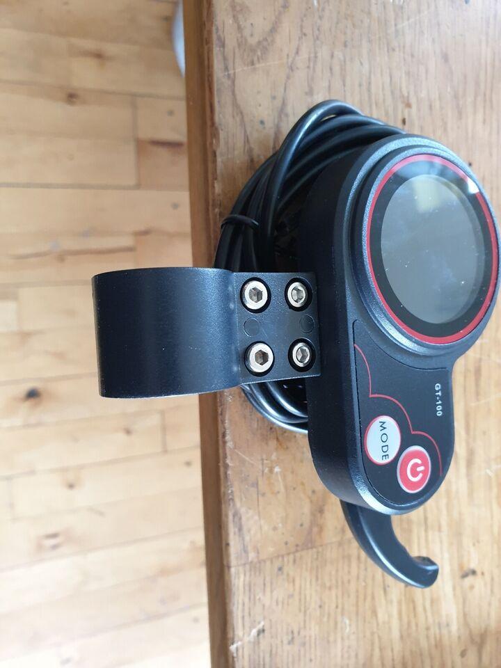 Elcykel-udstyr, Display med speeder og 3 gear