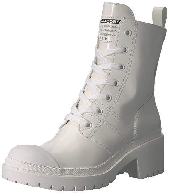 Marc Jacobs para para para Mujeres Con Cordones botas al Tobillo Bristol, blancoo, 35  centro comercial de moda