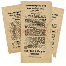 1871, Deutsch-Französischer Krieg, 3 Extrabeilagen, Sieg über Paris, Kriegsende