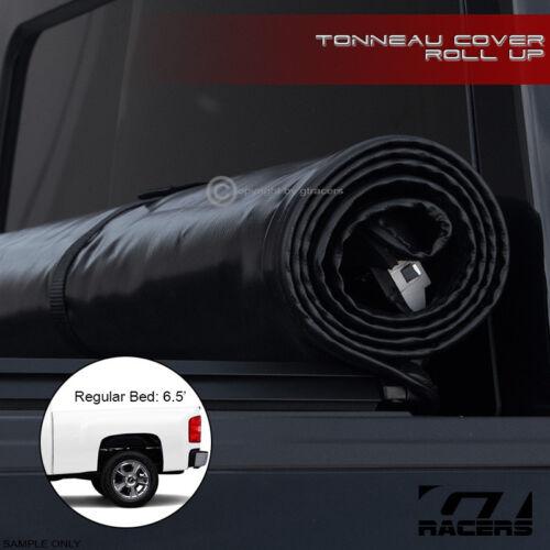"For 2007-2014 Chevy Silverado//Sierra 6.5/' 78/"" Bed Lock /& Roll Soft Tonneau Cover"