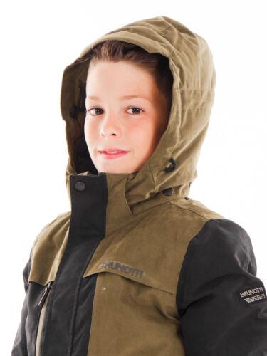 Brunotti Skijacke Schneejacke Montano schwarz schnelltrocknend warm