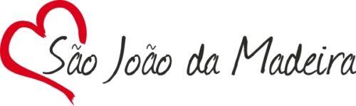 "Voiture autocollant /""sao Joao da Madeira/"" sticker ville portugal environ 4x16cm contour."
