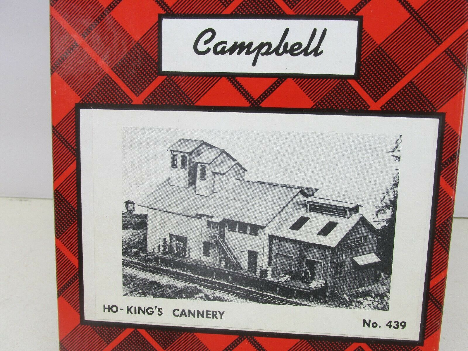 CAMPBELL SCALE MODELS  KING'S CANNERY BUILDING KIT  HO SCALE