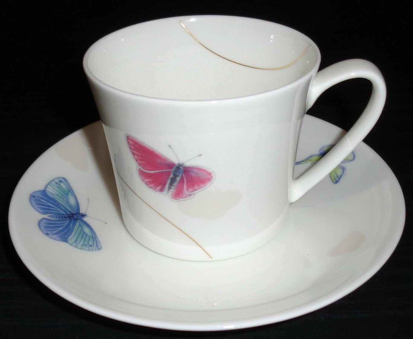 Rosanthal Curve Pepela  6 6 6 Kaffeetassen & Untertassen 12 tlg Neuware 1.Wahl a37dae