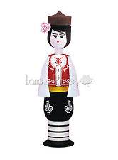 SOUVENIR VIAL WITH PERFUME DAMASK ROSE ESSENCE 2ML - BOY IN TRADITIONAL COSTUME