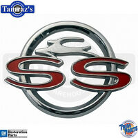 1963 Chevrolet Impala  Ss  Center Console Emblem - Made In The Usa