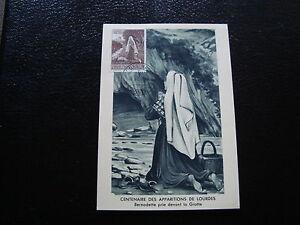 Vatican-Card-1958-Centennial-Of-Apparitions-of-Lourdes-yt-N-253-cy2