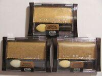 Maybelline Expertwear Eye Shadow 270s Golden Halo Lot Of 3