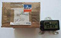 N.o.s. Mopar (voltage Regulator) P/n's F0502 & 73691 & 1179 & 150312 N.o.s.