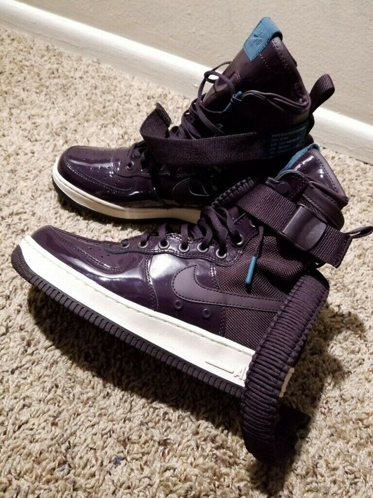 Nike Air Force Special SF-AF1 Patent Leather (Purple) Women's Size 7.5
