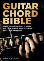 Guitar Chord Bible (music Bibles) By Phil Capone, (spiral-bound), Chartwell Book on sale