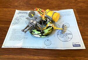 Sewer-Army-Tube-Vintage-TMNT-Ninja-Turtles-Vehicle-Near-Complete-Instructions