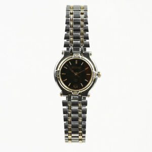bbd7db41baa Image is loading Gucci-Stainless-Steel-14K-Gold-Plated-034-9000L-