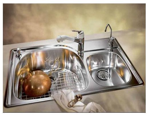 FRANKE PCX620-RH Prestige Double Bowl Stainless Steel Sink 38\'\'x22\'\'  Drop-In New