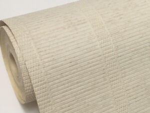 Details About Covereasy Bamboo Weave Textured Thick Wallpaper Covers Panel Cracked Paintable