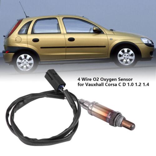4 Wire Oxygen Sensor for Vauxhall Corsa C D 1.0 1.2 1.4 Front Rear replaceable