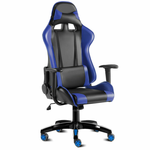 Cool Giantex High Back Racing Style Gaming Chair Reclining Office Executive Task Ocoug Best Dining Table And Chair Ideas Images Ocougorg