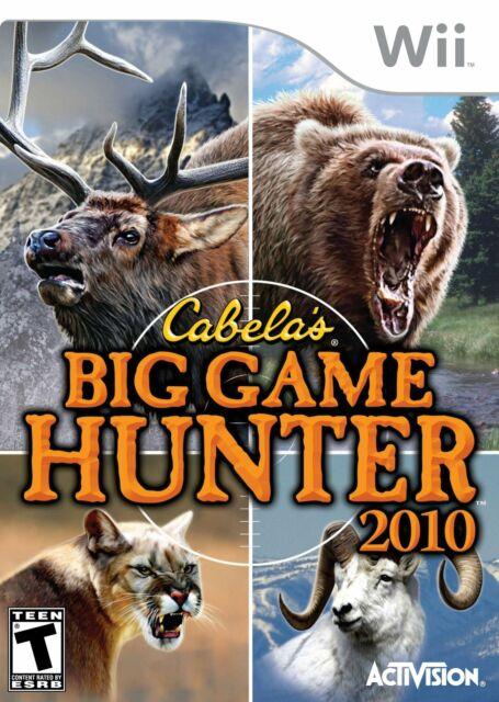 Cabela's Big Game Hunter 2010 - Nintendo Wii (Game Only) [video game]