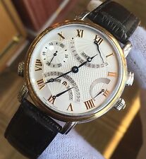 NEW! Maurice Lacroix Masterpiece Double Retrograde Men's Watch MP7018-PS101-110