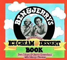 Ben & Jerry's Homemade Ice Cream & Dessert Book NEW