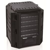Large Garden Home Composting Bin Composter Unit Eco Friendly Organic Waste 380L