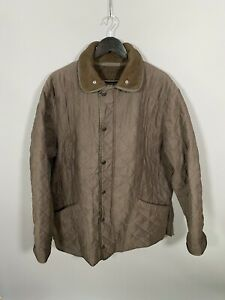Barbour-polarquilt-jaqueta-longa-Xl-Marrom-otimo-Estado-Masculino