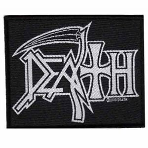 Death-Logo-Patch-Official-Heavy-Metal-Band-Merch-New