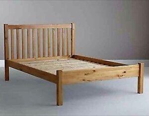 John Lewis Wilton Bed Frame King Size Pine