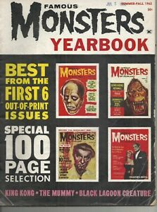 Famous Monsters of Filmland 1962 Summer-Fall Yearbook