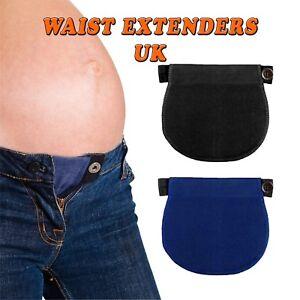 Waist Extender Adjustable Maternity Pregnancy Jeans Trousers Belly Belt Elastic