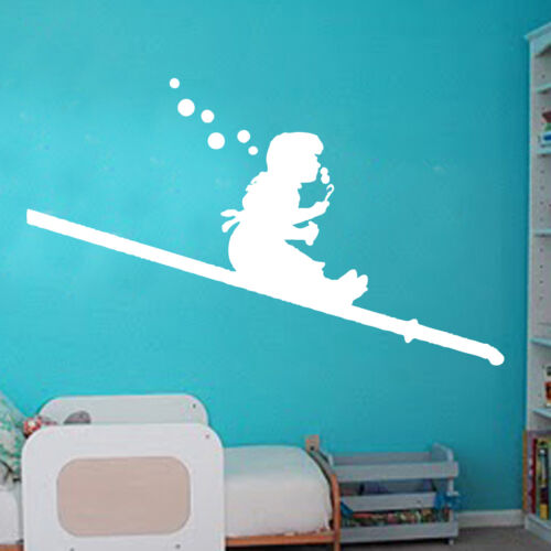 Banksy Bubble Girl Decal Vinyl Wall Sticker Art Graffitti Street