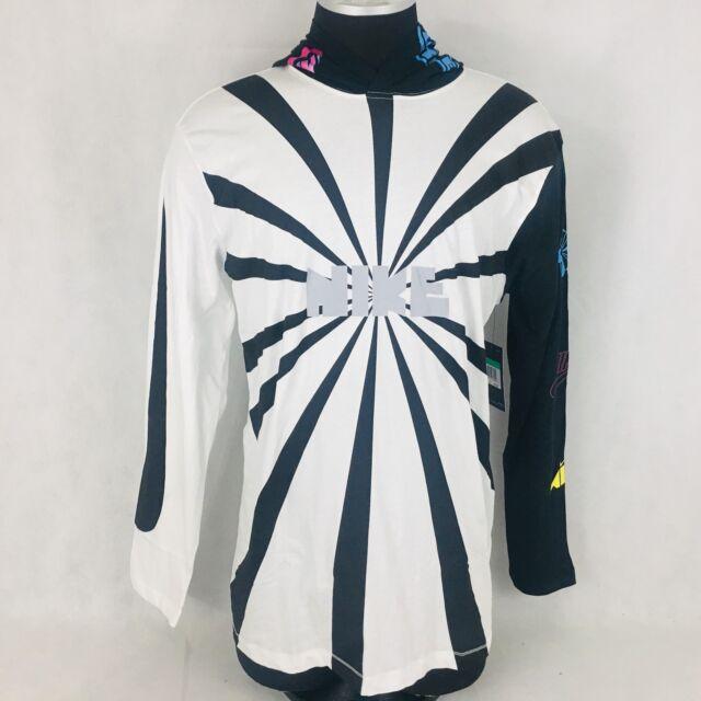 0ae06880c098 Nike NSW Wildcard Pinwheel Long Sleeve Hoodie Mens Size XXL Ah8738 ...