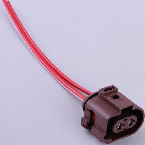 2-pin Handbrake Servo Wiring Plug Connector for Audi Q3 VW Passat CC Tiguan