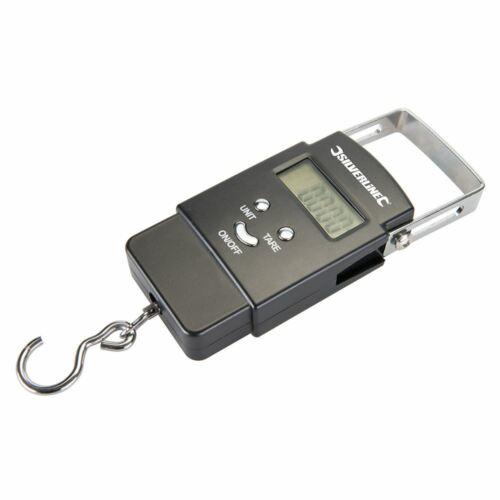 Silverline 243857 50 kg électronique de poche balance