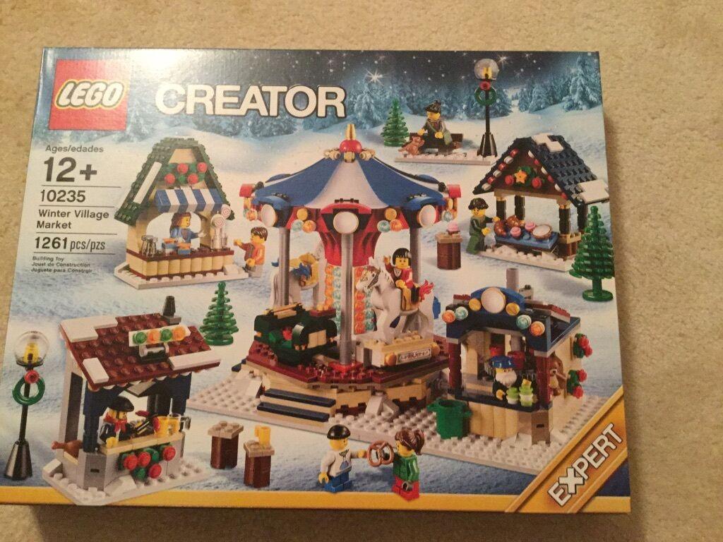 nuovo LEGO Creator Winter Village  Market   10235 gratuito shipping  ordina adesso