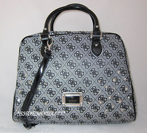 Image Is Loading Guess By Marciano Skya Studded Box Dome Satchel