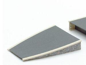 PECO-ST-297-2x-Platform-Ramps-Stone-Edging-Plastic-Kit-039-00-039-Gauge