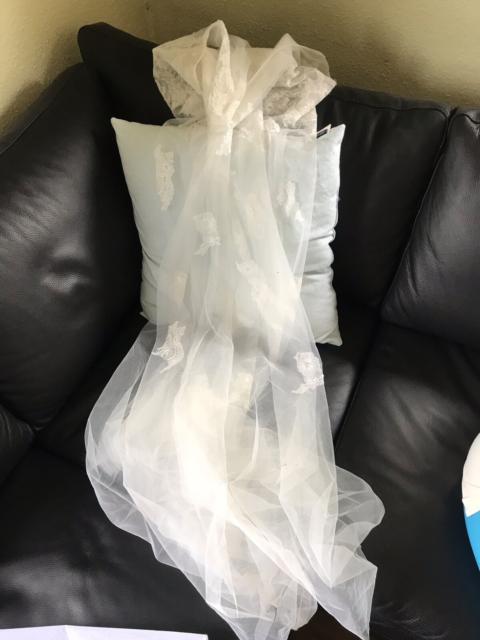 64a989e9dcaf Vintage brudekjole