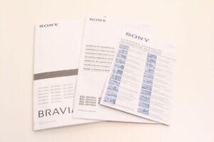 Sony Bravia Lcd Digital Colour Tv Wall Mount Manual Guide Ebay