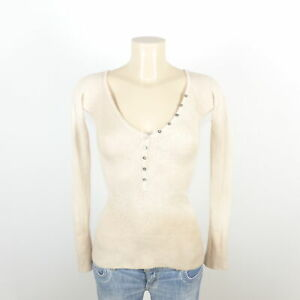 Wlns in cashmere fine Pullover beige Maglia Wellness gr rwpqgtFr