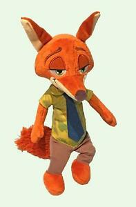 Zootopia-Talking-Plush-Nick-Wilde-Fox-14-034-Disney-Stuffed-Animal-New-No-Paper-Tag